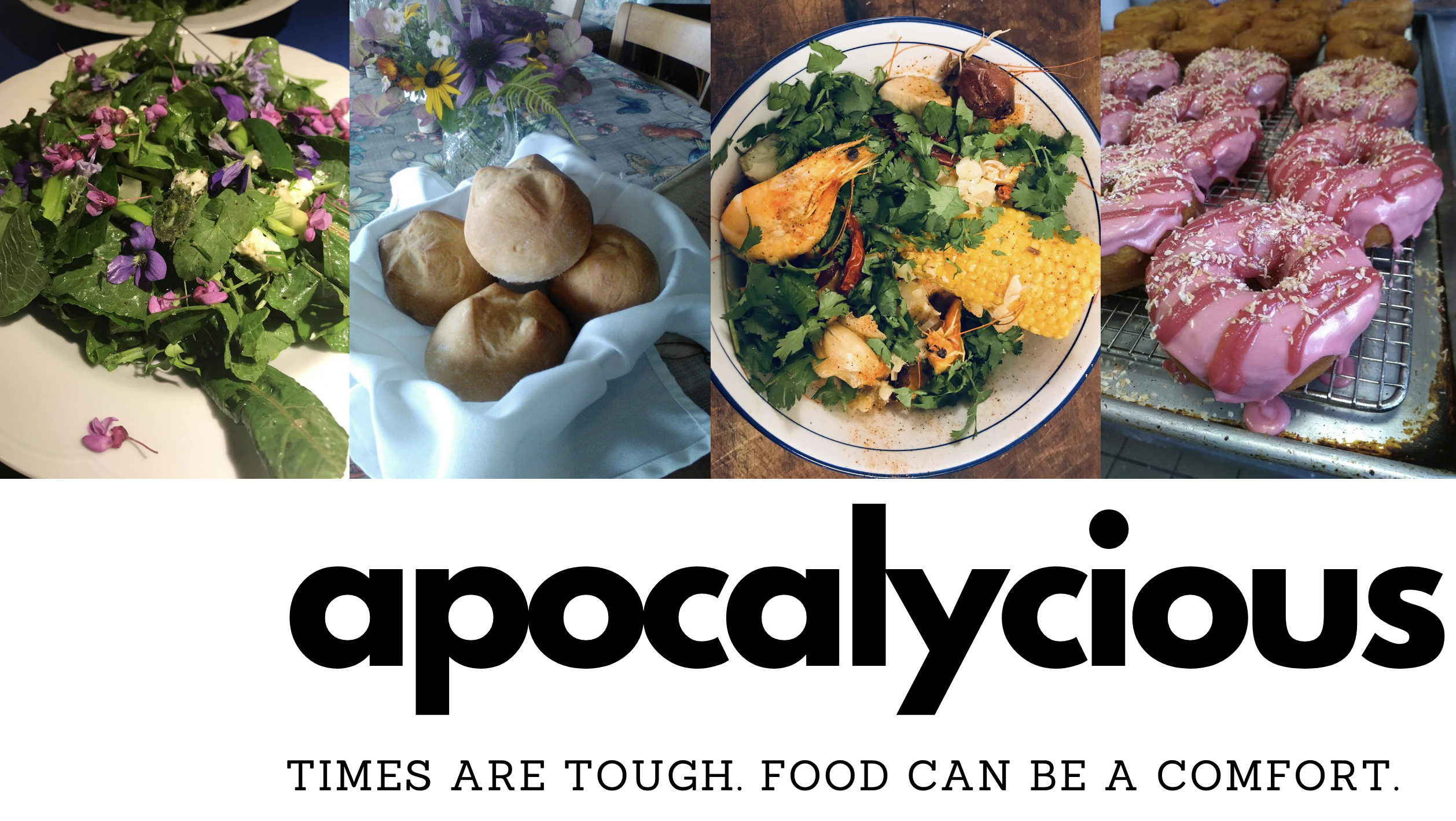 apocalycious: Times are Tough. Food Can Be a Comfort.